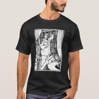 Beardsley Illustration  Pierrot's Library T-Shirt
