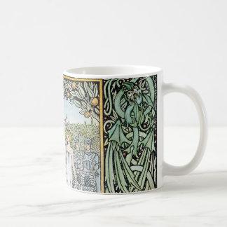 Beardsley: Morte D'Arthur Coffee Mug
