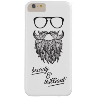 beardy & brilliant barely there iPhone 6 plus case