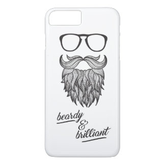 beardy & brilliant iPhone 8 plus/7 plus case