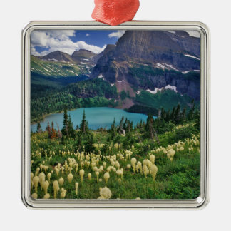 Beargrass above Grinnell Lake in the Many Christmas Ornament