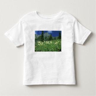 Beargrass at Eunice Lake, Mt. Rainier NP, WA, Toddler T-Shirt