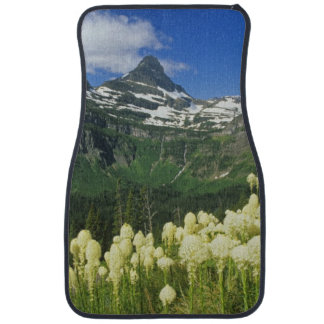 Beargrass near Logan Pass in Gacier National Car Mat