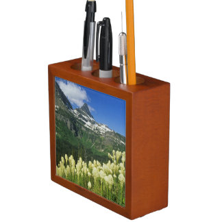 Beargrass near Logan Pass in Gacier National Desk Organiser