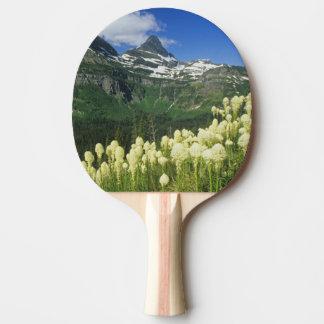 Beargrass near Logan Pass in Gacier National Ping Pong Paddle