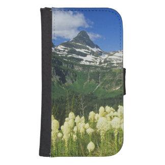 Beargrass near Logan Pass in Gacier National Samsung S4 Wallet Case