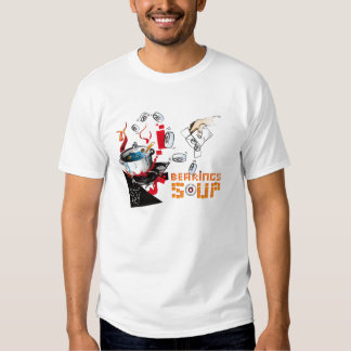 Bearing Soup Pixel Tshirts