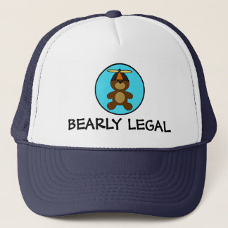 Bearly Legal Teddy Bear Trucker Hat