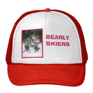 Bearly Skiers Cap