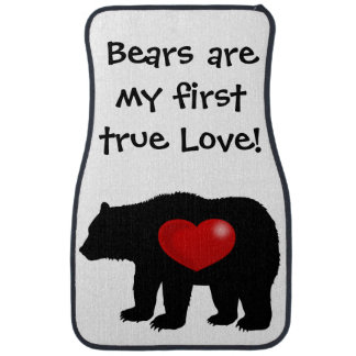Bears are my first true Love! Floor Mat