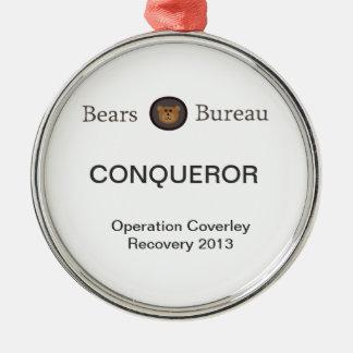 Bears Bureau Christmas Ornament