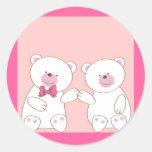 Bears couple sticker