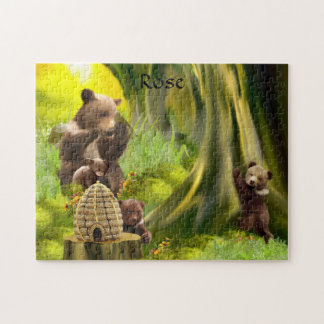 Bears Day Out Jigsaw Puzzle