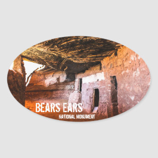 Bears Ears National Monument Oval Sticker