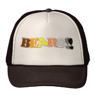 BEARS!! HATS