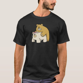bears hug black T-Shirt