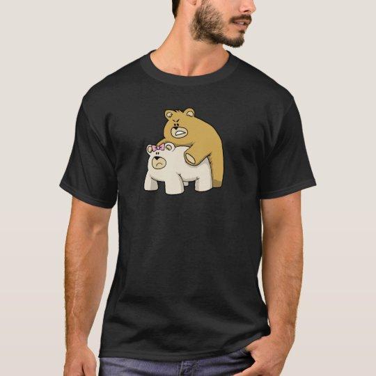 bears hug black T-Shirt