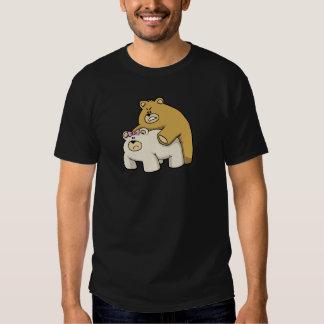 bears hug black tshirt