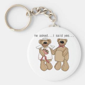 Bears I Said Yes Tshirts and Gifts Key Chain