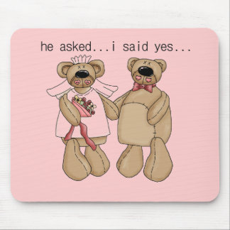 Bears I Said Yes Tshirts and Gifts Mouse Pad