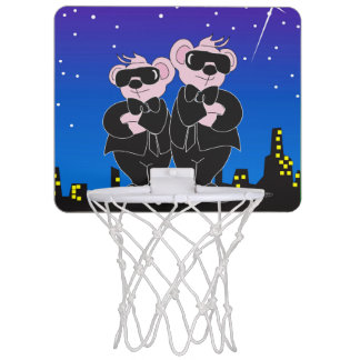 BEARS IN BLACK ALIEN Mini Basketball Goal Mini Basketball Hoop