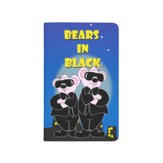 BEARS IN BLACK ALIENS Pocket Journal Checklist