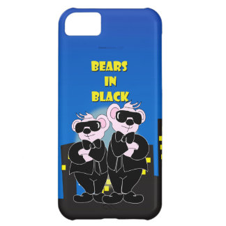 BEARS IN BLACK iPhone 5C  Barely There iPhone 5C Case
