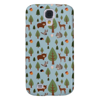 Bears, Raccoons, Squirrels, Hedghogs and Trees Galaxy S4 Case