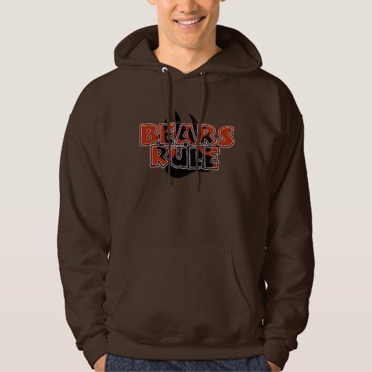 Bears Rule Brown on Black Paw HOT LOOKING