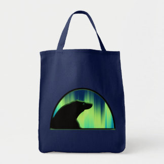 Bears Tote Bag Stylish Wildlife Art Shopping Bag