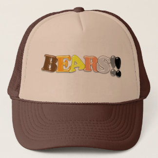 BEARS!! TRUCKER HAT