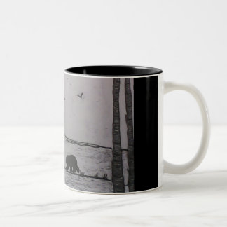 Bears Two-Tone Mug