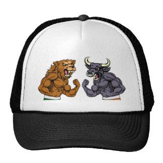 Bears Versus Bulls Stock Market Concept Cap