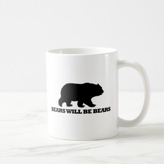 Bears Will Be Bears Coffee Mug