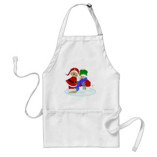 Beary and Snowy Standard Apron