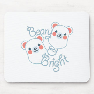 Beary & Bright Mouse Pad