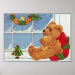 Beary Christmas Print