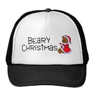 Beary Christmas (Teddy Bear) Mesh Hat
