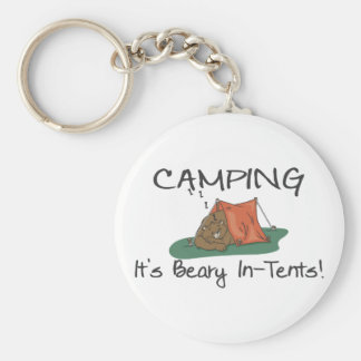 Beary In-Tents Key Chains