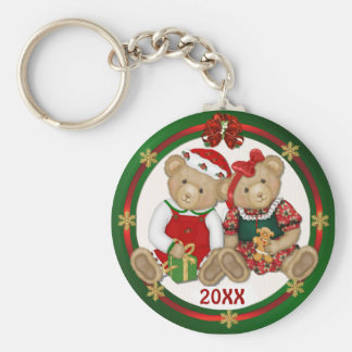 Beary Merry Christmas 20XX Key Ring