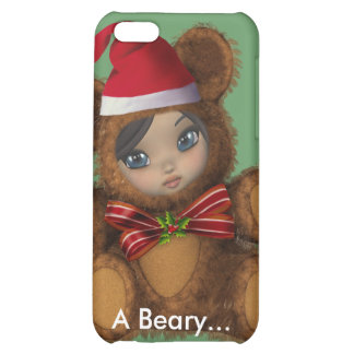 Beary Merry Christmas 4G  iPhone 5C Covers