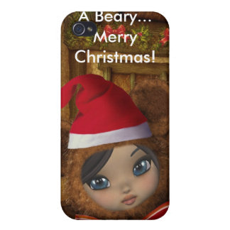 Beary Merry Christmas 4G  iPhone 4/4S Covers