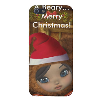 Beary Merry Christmas 4G  Covers For iPhone 5