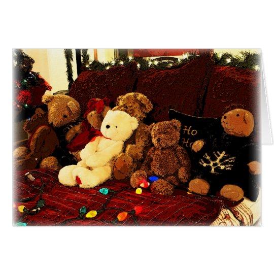 Beary, Merry Christmas! Card