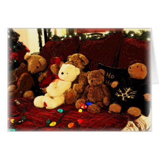 Beary, Merry Christmas! Greeting Card