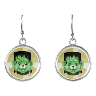 BEARY SCARY CARTOON Drop Earrings