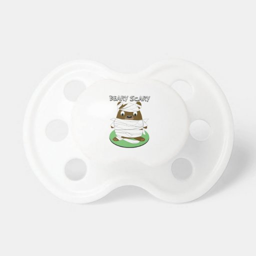 Beary Scary Baby Pacifier