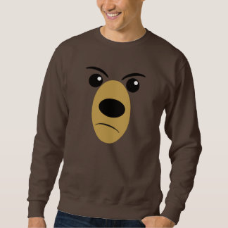 Beary Scary Face Sweatshirt