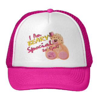 Beary Special to God Mesh Hats