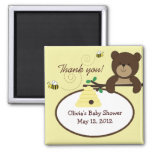 Beary Sweet Bear & Bee Baby Shower Favour Magnet